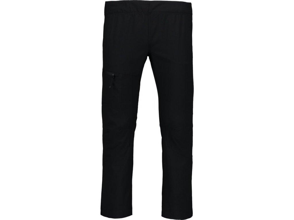 Dětské letní outdoorové kalhoty černé NBSPK6786