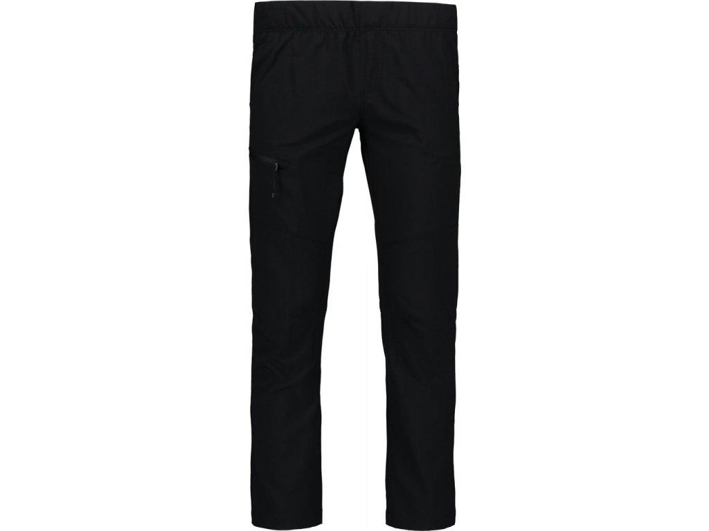 Dětské letní outdoorové kalhoty černé NBSPK6787