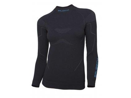 Brubeck dámské tričko s dlouhým rukávem Thermo černé