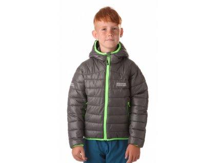 Dětská zimní bunda NBWJK6466 šedá