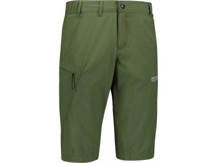 Pánské outdoorové 3/4 kalhoty NBSPM6636 zelené