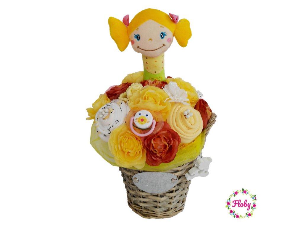 kytice z dětských body