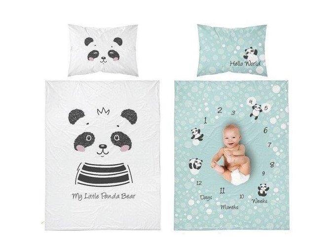 detske povleceni panda bear