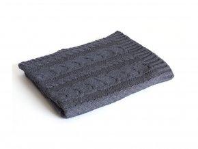 pletena deka bavlna denim copanky rialto baby