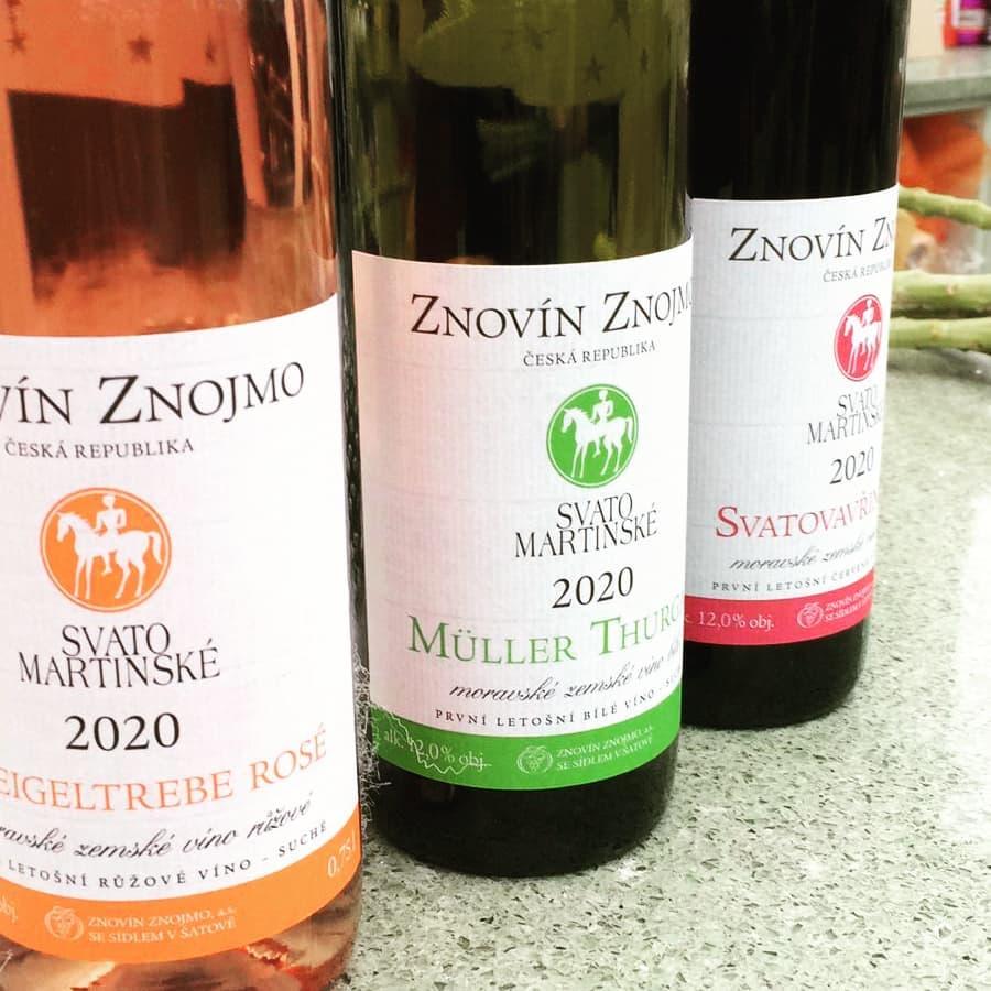 Svatomartinské víno v prodeji