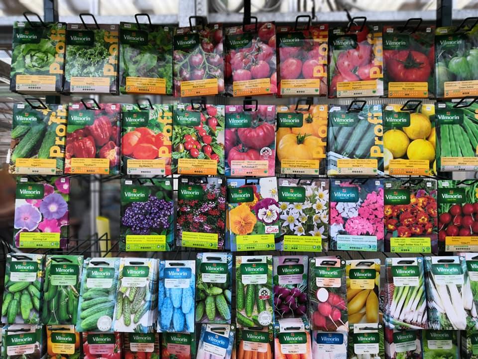 Semena, minipařeniště, sadbovače, substráty