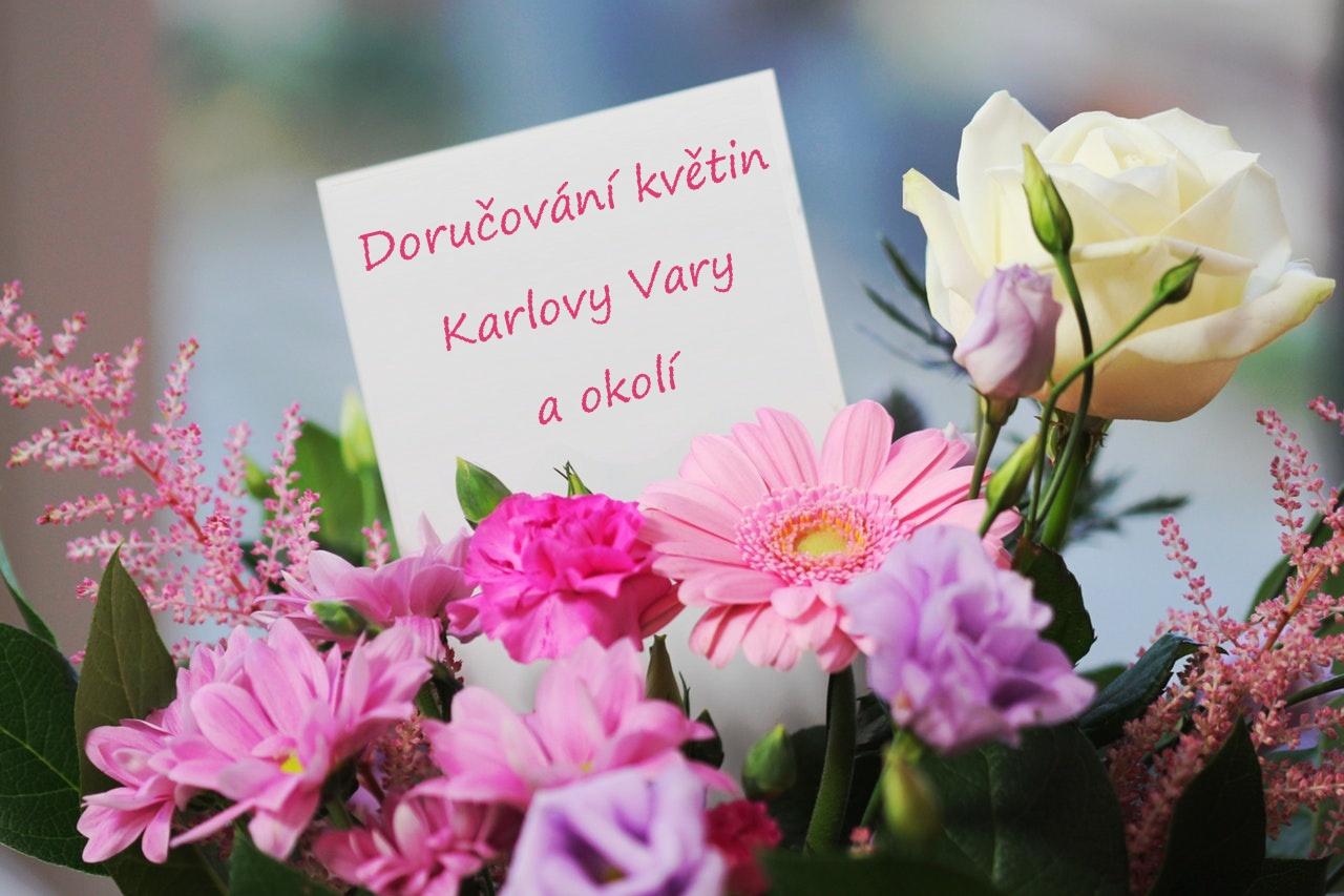 Doručení květin Karlovy Vary