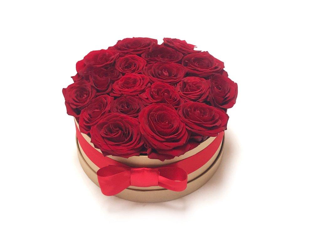 Květinový box II - růže