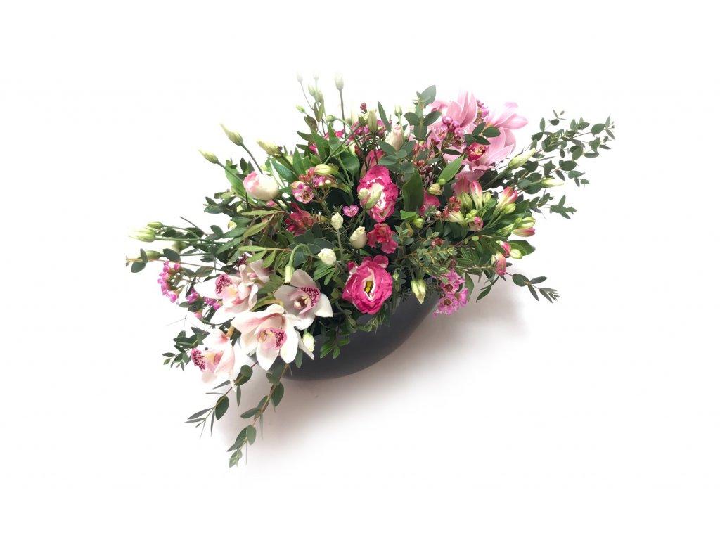 Ingrid - květinové aranžmá na stůl