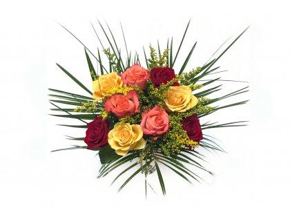Kytice Olivia - mix růží