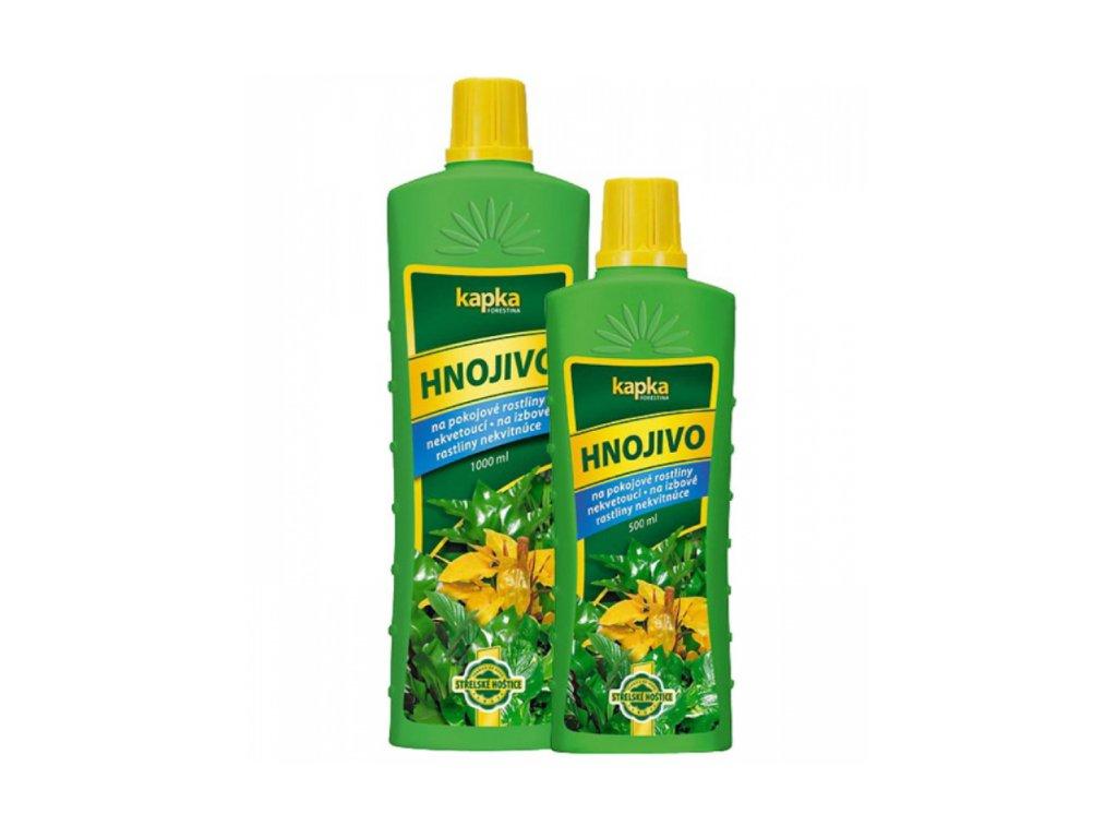tekute hnojivo na zelene rastliny