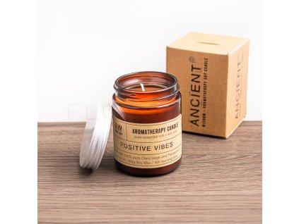 aromaterapeuticka sviecka ancient wisdom positive vibes florecita