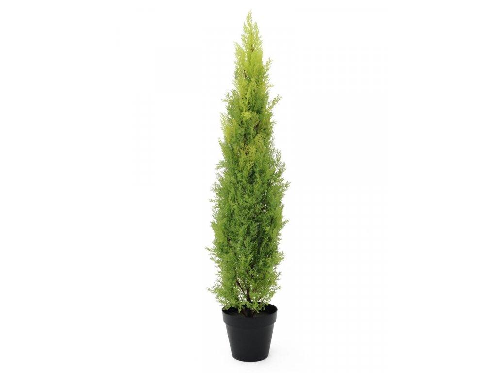 Umělý strom Cypřišek světlý (Varianta 120cm)