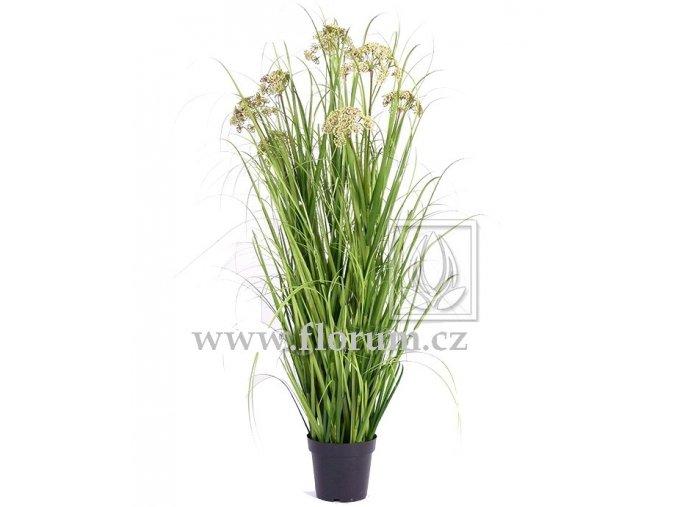 Umělá rostlina Tráva Achillea (varianta 145cm)