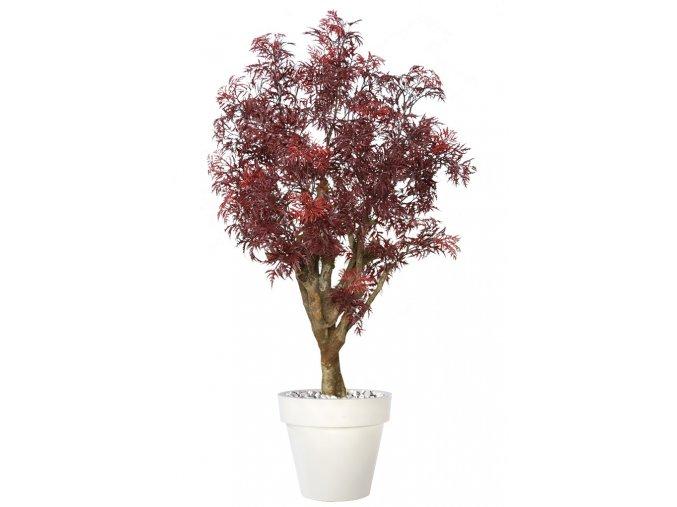 Umělý strom Aralia Malabar (120cm) burgundy
