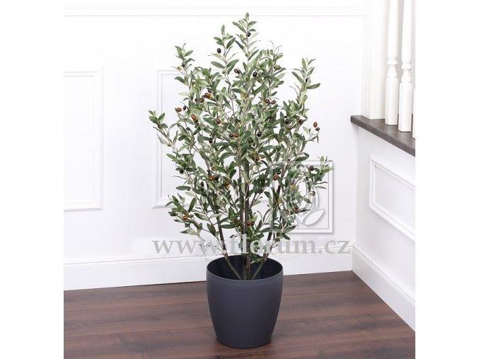 Umělý strom Olivovník Bush (110cm)