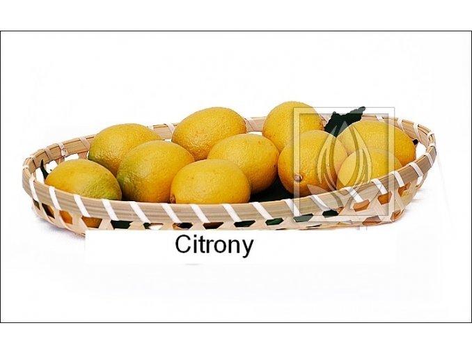 Umělé ovoce - Citrony (6ks)