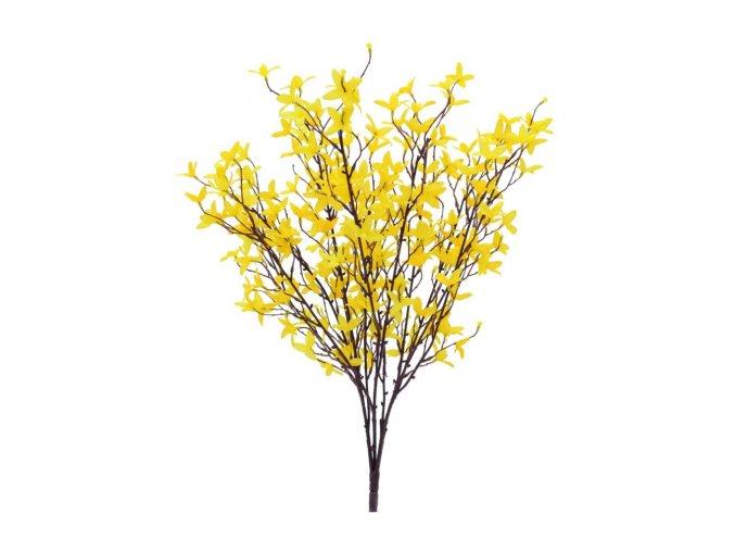 Umělá květina Větvička Zlatý déšť (60cm)