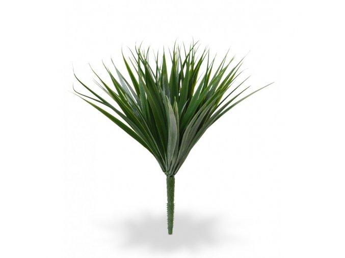 Umělá rostlina Bamboo bush (25cm)