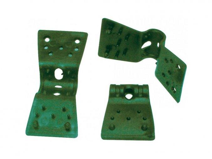 3991 uchyt na stinici site clips 3 5cm zeleny 1 kus