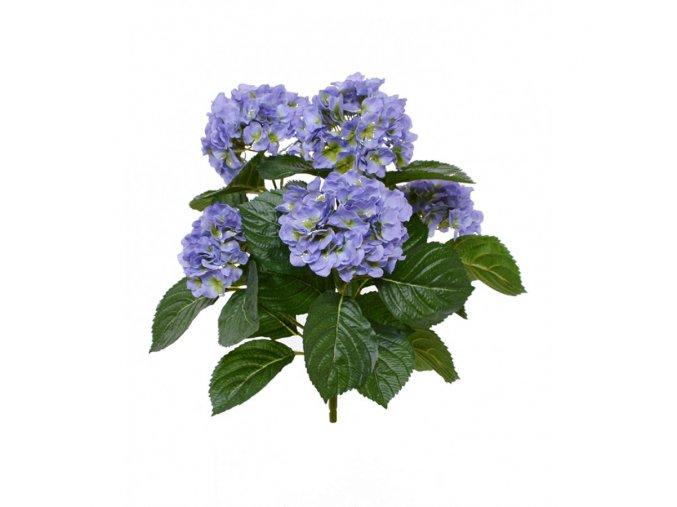 407703bl hortensia boeket 40 blauw