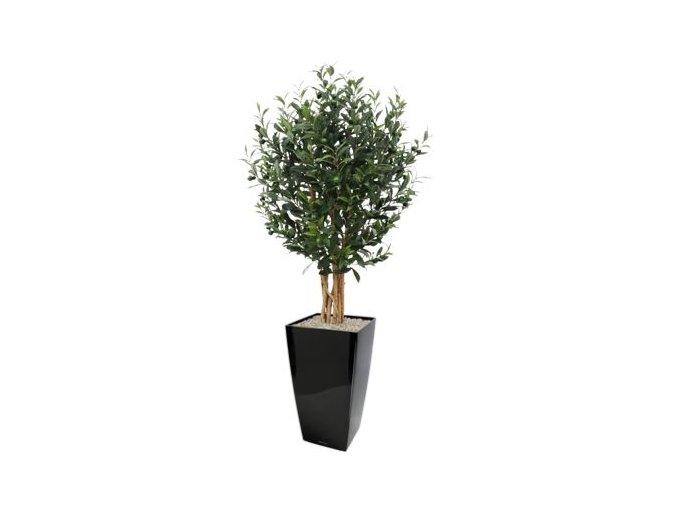olijf kunstboom 120cm in plantenbak cubico