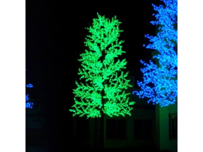 LED třešeň Slim - zelená (800cm)