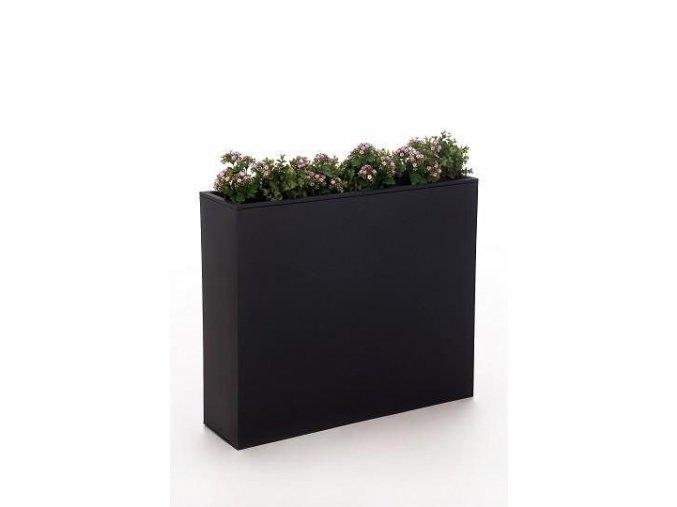 Truhlík sklolaminát Elim (88cm) (Varianta (88cm) černý lesklý)