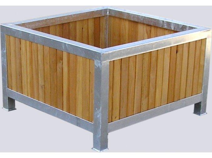 Květináč dřevěný Polino (Varianta 160x160x60cm)