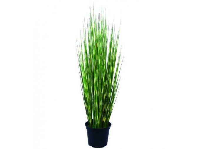 Umělá rostlina Tráva zebrovitá