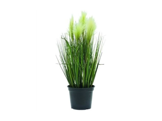 Umělá rostlina Tráva Feather (60cm)