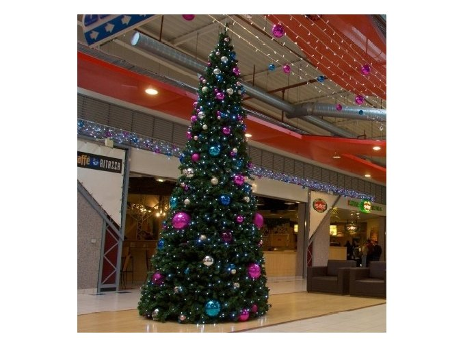 Umělý vánoční stromek XL Gigant LED (Varianta 930cm)