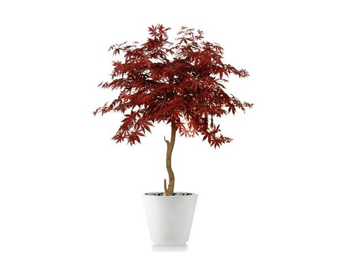 Umělý strom Maple Topiary (120cm) burgundy  javor