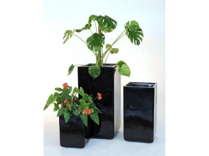 8710 kvetinac sklolaminat arno 50x100cm cerna
