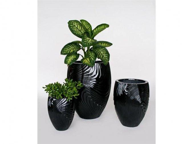 8806 kvetinac sklolaminat veridiana 35x45cm cerna