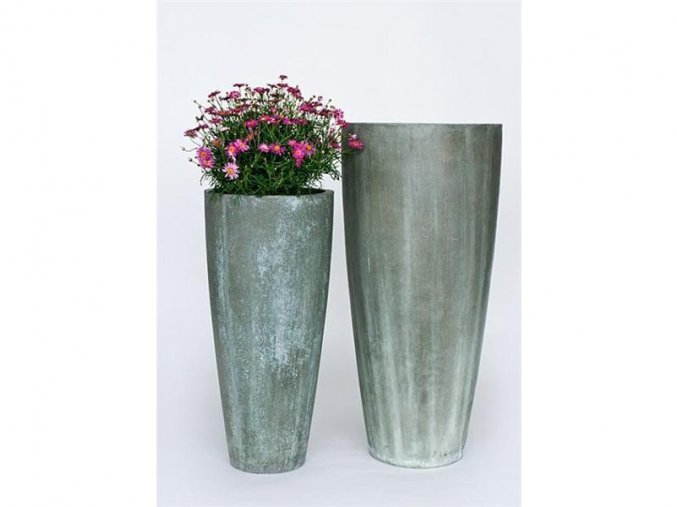 8860 kvetinac sklolaminat lia 48x100cm zelena antik