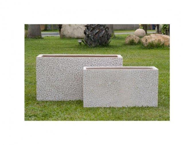 8956 truhlik sklolaminat silverio 65x22x30cm