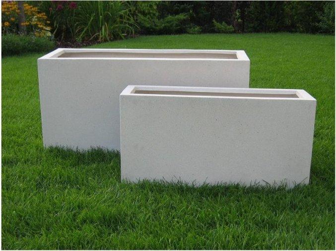8977 truhlik sklolaminat rinaldo 80x30x40cm kremove terrazzo