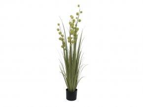 Umělá rostlina Tráva česneková (122cm)