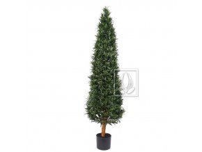 Umělý strom Podocarpus Cone (140cm)