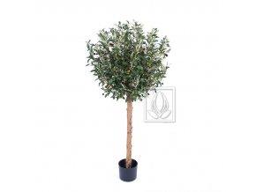 Umělý strom Olivovník Natur (120cm)