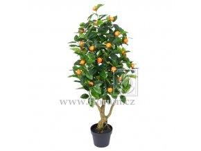 Umělý strom Pomerančovník (115cm)