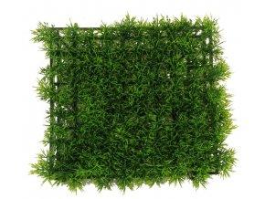 Panel umělý trávník, 25x25cm