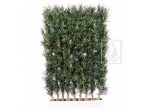 Umělý strom Cypřišový plůtek (125cm)
