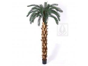 Umělá palma Cycas DeLuxe (210cm)
