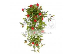 Umělá rostlina převis z růží (85cm)
