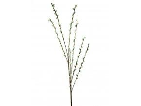 Umělá květina Větvička vrbová  - kočičky (117cm)  kočičky