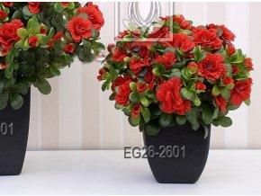 Umělá rostlina Azalka (varianta (30cm) krémovo-růžová)