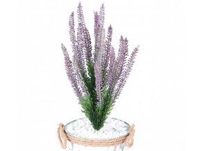 Umělá rostlina Erica - vřes (35cm) lila