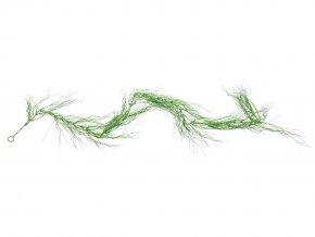 Umělá rostlina Girlanda trávová (180cm)